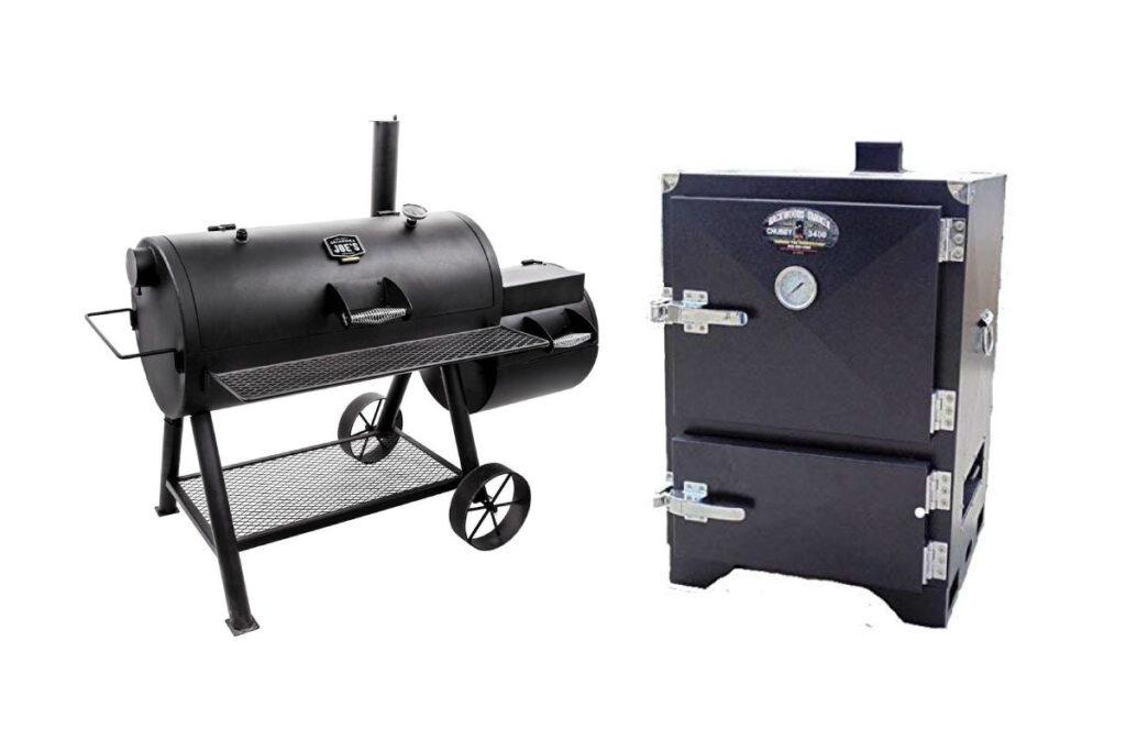Offset smoker vs vertical