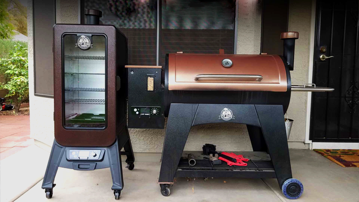 pellet or electric smoker