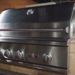 delta heat built-in grill
